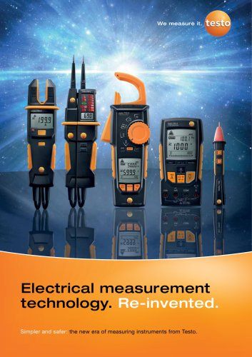 Electrical measurement technology. Re-invented.