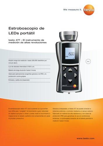 Estroboscopio de LEDs portátil -  testo 477