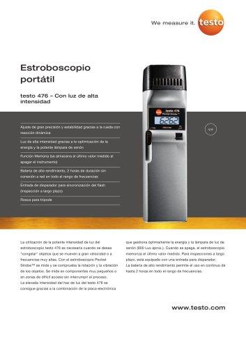 Estroboscopio portátil - testo 476