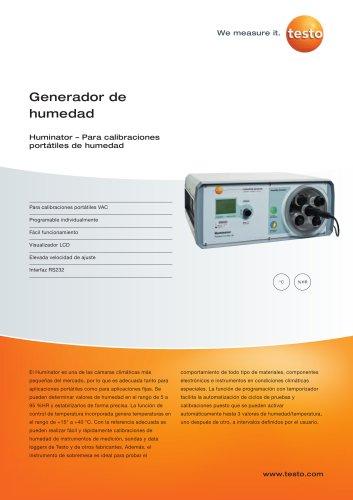 Generador de humedad