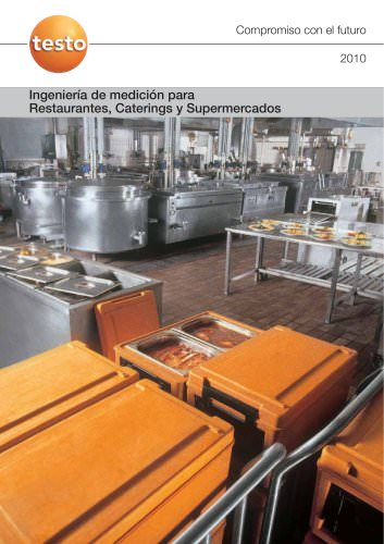 Ingeniería de medición para Restaurantes, Caterings y Supermercados