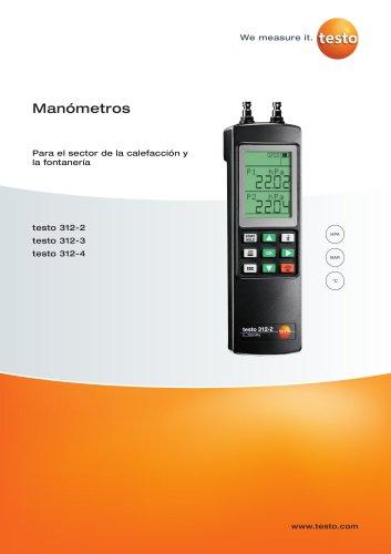 Manómetros - Para el sector de la calefacción y la fontanería