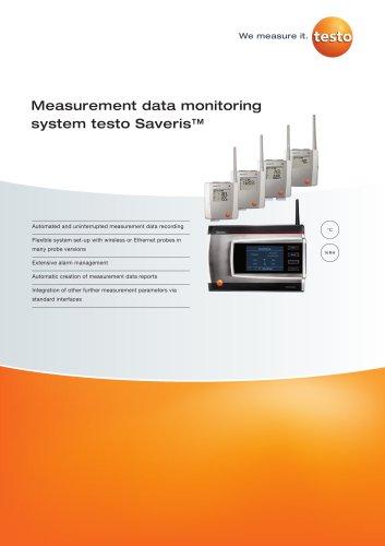 Measurement data monitoring system testo Saveris™