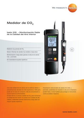 Medidor de CO2 - teso 535