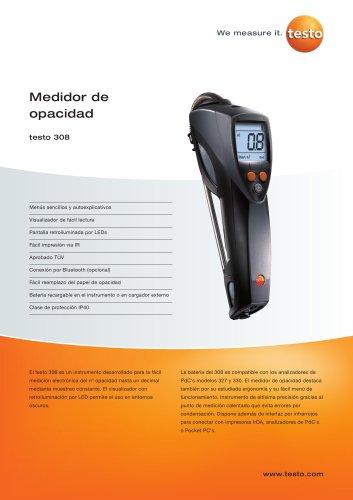 Medidor de opacidad - testo 308