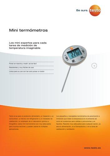 Mini termómetros Los mini expertos para cada tarea de medición de temperatura imaginable