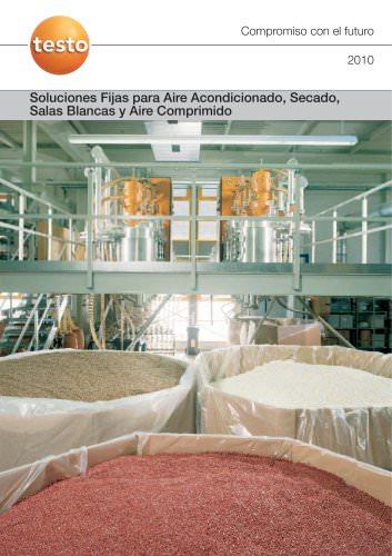 Soluciones Fijas para Aire Acondicionado, Secado, Salas Blancas y Aire Comprimido