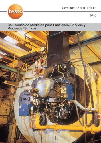 Soluciones de Medición para Emisiones, Servicio y Procesos Térmicos