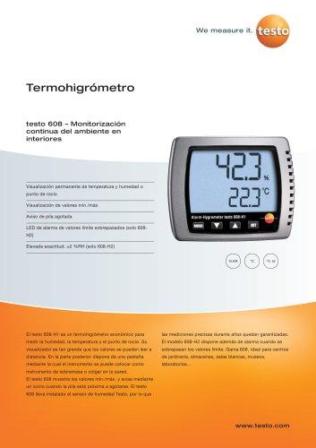 Termohigrómetro - testo 608