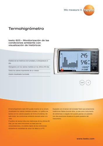 Termohigrómetro - testo 623