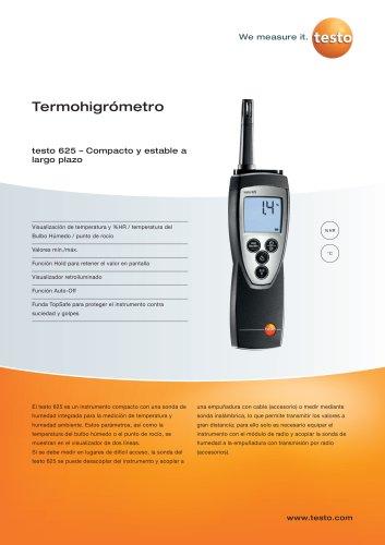Termohigrómetro - testo 625