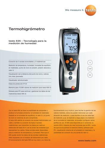 Termohigrómetro - testo 635