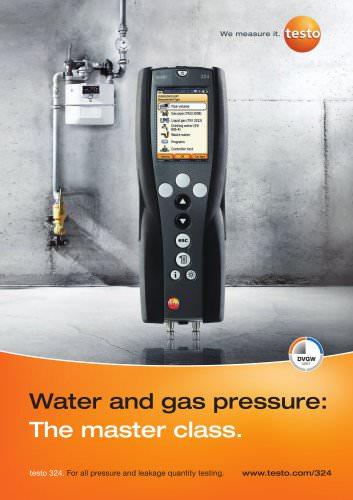 testo 324 leakage measuring instrument