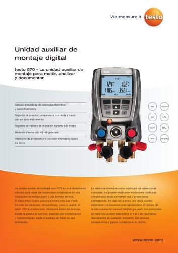 testo-570-Datasheet ES