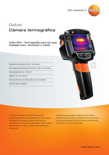 testo 870 - Cámara termográfica