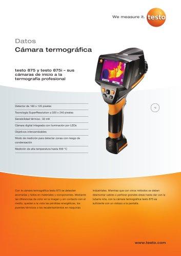 testo 875 y testo 875i - sus cámaras de inicio a la termografía profesional