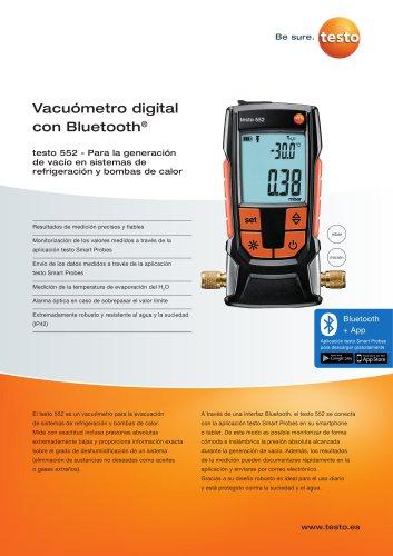 Vacuómetro digital  con Bluetooth®