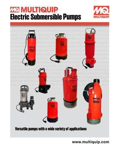 Electric Submersible Pumps Brochure
