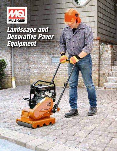 Landscape and Decorative PaverEquipment