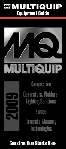 Multiquip Construction and Power Generation Equipment Guide