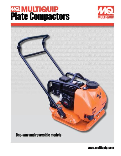 Plate Compactors Brochure