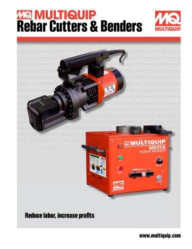 Rebar Cutters and Benders Brochure