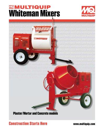 Whiteman Towable Mixers Brochure