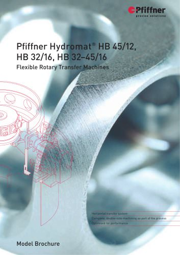 Hydromat HB32/16, HB32-45/16 and HB45/12
