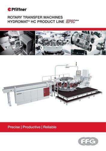 Pfiffner Hydromat Product Line HC EPICplus
