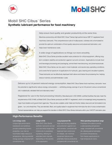 Mobil SHC Cibus? Series