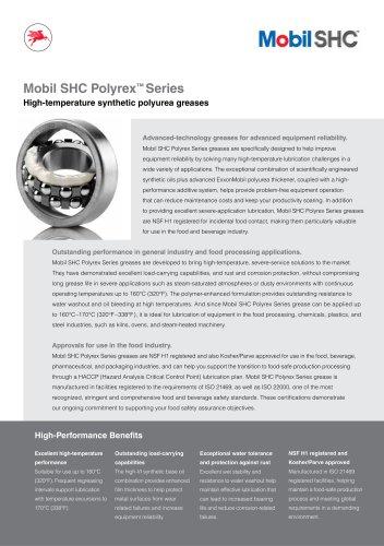 Mobil SHC Polyrex Series
