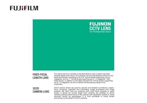 FUJINON-FA-MV-CCTV-LENS