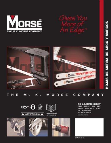 M K Morse Hojas De Sierra De Arco Y Marcos
