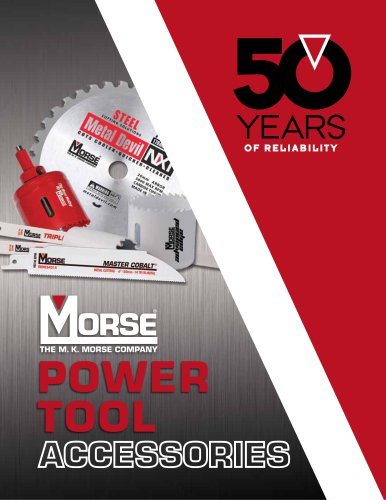 M. K. Morse Power Tool Accessory Catalog