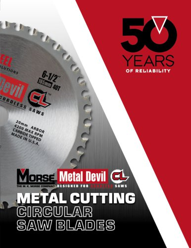 Metal Devil CL Cordless Circular Saw Blades Catalog