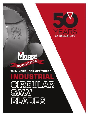 Revolution Industrial Circular Saw Blades Catalog