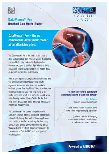 DataMouse Pro - Handheld Data Matrix Reader