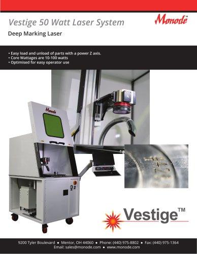 Vestige 50 Watt Laser System