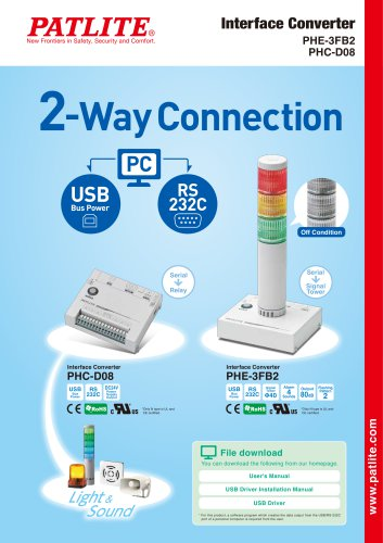 Interface converter  PHE-3FB2