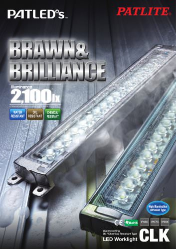 LED Bar Light with oil proof CLK