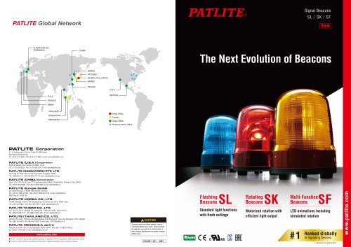 The Next Evolution of Beacons: SL, SK, SF