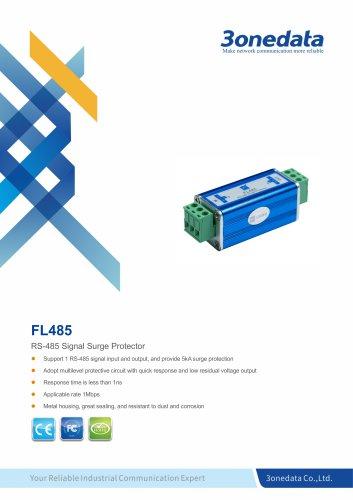 3onedata | FL485 | RS-485 Signal Surge Protector