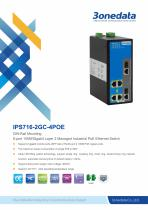 3onedata | IPS716-2GC-4POE | Managed | 6 ports Industrial PoE Switch with 4-port POE