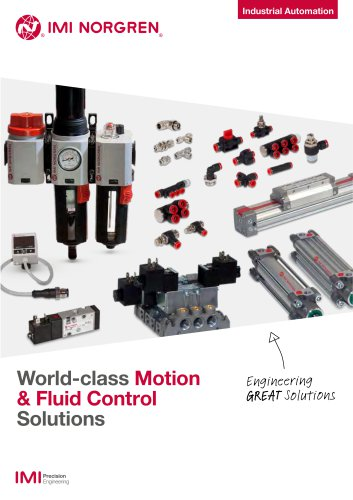 World-class Motion & Fluid Control Solutions