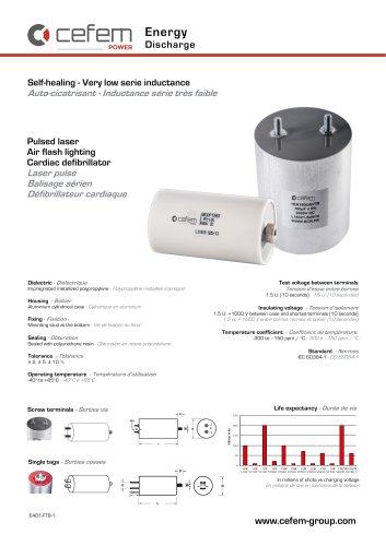 Discharge-capacitor