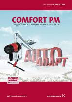 COMFORT PM Energy-efficient and intelligent hot water recirculation