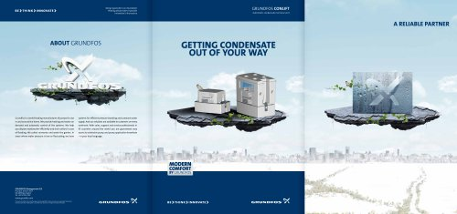 Grundfos Conlift Getting condensate out of your Way