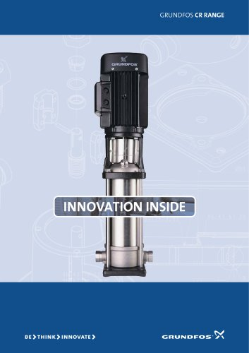 Grundfos CR Range - Innovation Inside