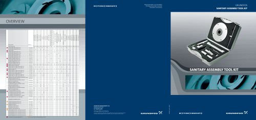 Sanitary Assembly Tool Kit