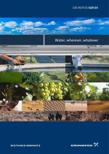 SQFlex ? product brochure